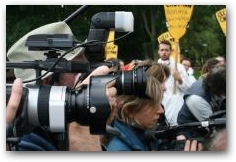 The Paparazzi at Chevron Headquarters, San Ramon CA  -> Click to enlarge
