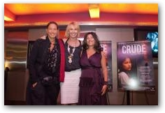 New York City Premiere of CRUDE  -> Click to enlarge